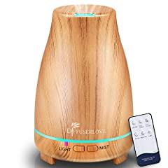 【Easily Operation and Lower Noise】 This new diffuser is easy to use. Drop essential oils into ultrasonic aromatherapy diffusers(below -35dB), run steady and noiselessly, give you a quiet and comfortable environment. Replenish water and nutrition into...