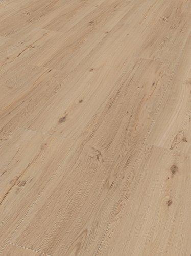 Parador Klick Vinyl Bodenbelag Classic 2050 Eiche geschliffen Landhausdiele Gebürstete Struktur 2,118m², hochwertige Holzoptik mittel braun 5mm, einfache Verlegung