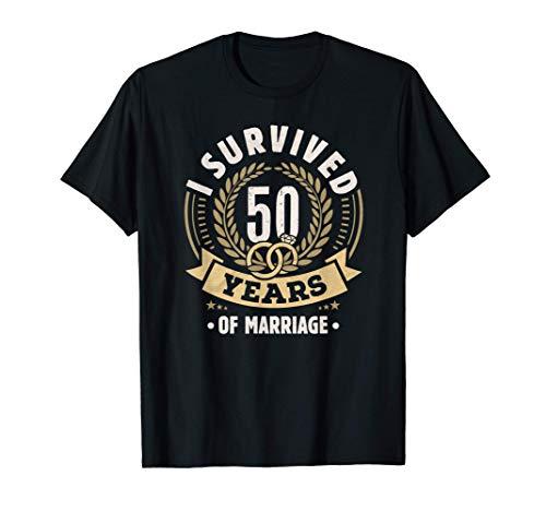 Divertente 50° Anniversario di matrimonio per coppie Maglietta
