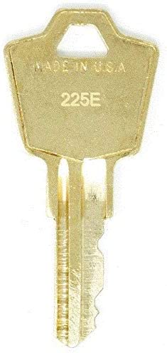 HON 225E File Cabinet 2 Keys Replacement El Paso Mall Inventory cleanup selling sale Keys: