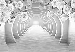 Grau Tunnel Rosen