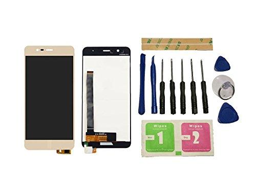 Flügel para ASUS Zenfone 3 Max ZC520TL X008D Pantalla LCD pantalla Oro Táctil digitalizador Asamblea Pantalla ( sin marco ) de Recambio & Herramientas