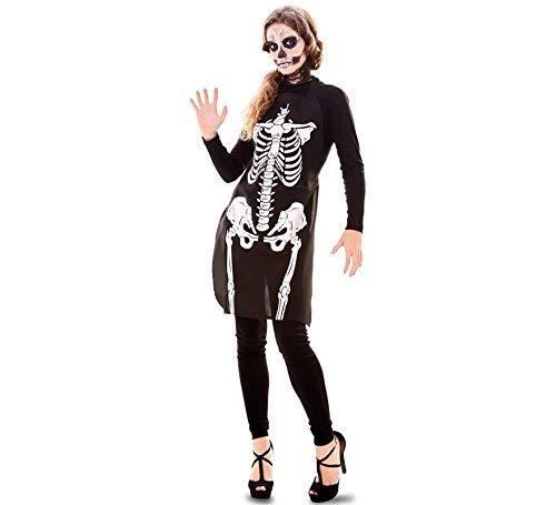 Fyasa Disfraz 706454 T04de esqueleto, talla grande