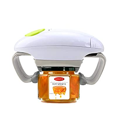 Electric Jar Opener, Kitchen Gadget Strong Tough Automatic Jar Opener For New Sealed Jars,The Hands Free Jar Opener with Less Effort to Open by Besmon