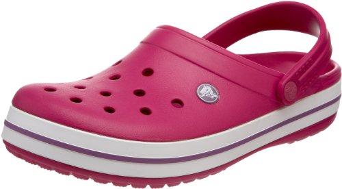 crocs Crocband 11016, Unisex - Erwachsene, Clogs & Pantoletten, Pink (Berry/Lilac), EU 36/37 (US M4/W6)