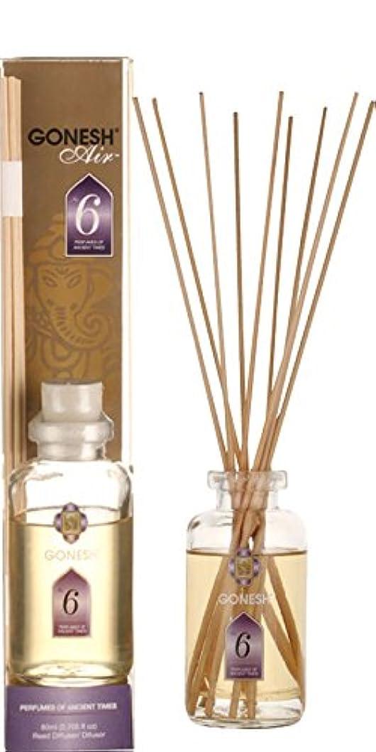 平衡連続したルーGONESH ガーネッシュ リードディフューザー NO.6 ルームフレグランス 芳香剤 アロマ インセンス 癒し 香り