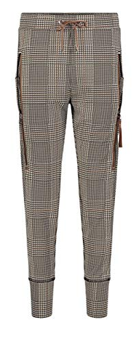 MAC Jeans Damen Future 2.0 Hose, 226K Latte macciato Check, 40/OL