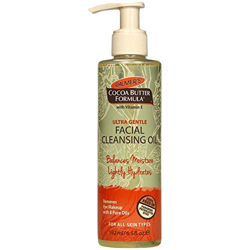 Palmer's Cocoa Butter Formula Ultra Gentle Facial Cleansing Oil, 6.5 Ounces