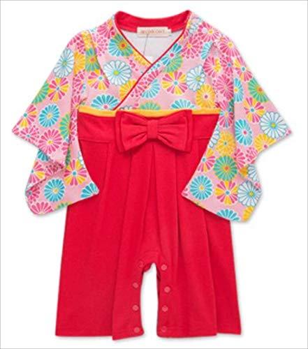micia luxury(ミシアラグジュアリー) 着物 ロンパース 伝統 袴 日本 子供服 ベビー服 コスプレ D 95