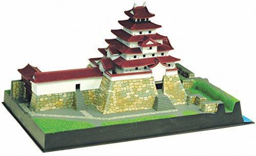 童友社 1/460 日本の名城 JOYJOYコレクション 赤瓦鶴ヶ城 プラモデル JJ12