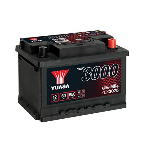 AUTOBATTERIE YUASA YBX 3075-60Ah 12V 550A (EN)