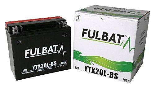 Batería FULBAT AGM YTX20L-BS 12V 18Ah 270A Largo: 175 x Ancho: 87 x Alto 155 (mm)
