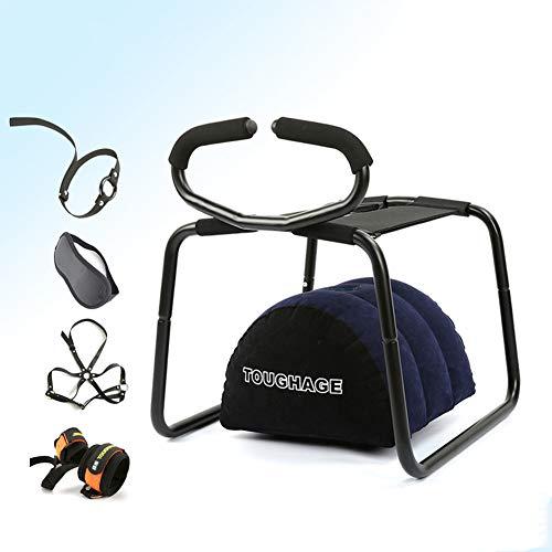 N/O Multifunktions-Position Enhancer Stuhl, Spielzeug mit Handlauf, Kissen, Abenteuerset für Paare