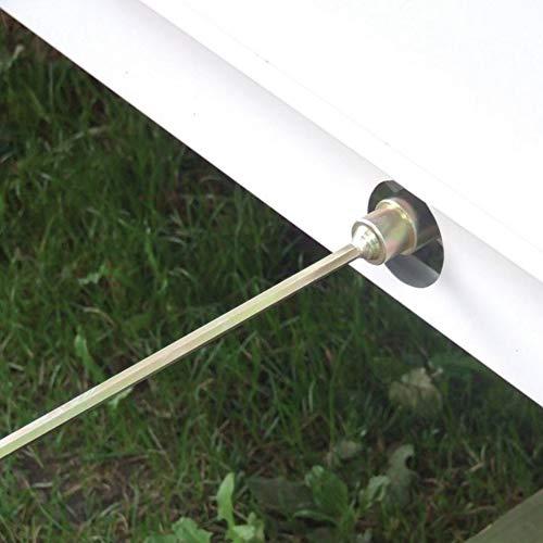 GADLANE - Prolongador/adaptador de taladro eléctrico para patas de caravana. 30 cm de largo, 19 mm de diámetro