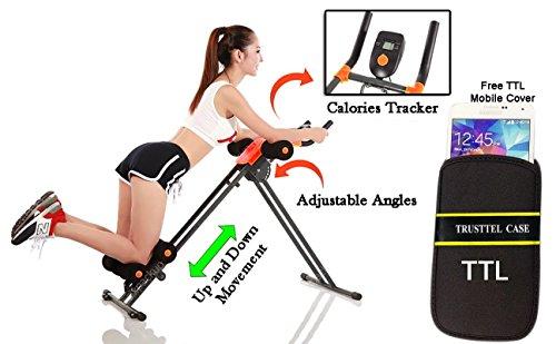 Ad Corp Ab Vertical 5 Minute Shaper Fitness Equipment Vertical Abdomen Abdominal Ab Abdomen Machine Ab Coaster Round Waist Trainer Power Plank