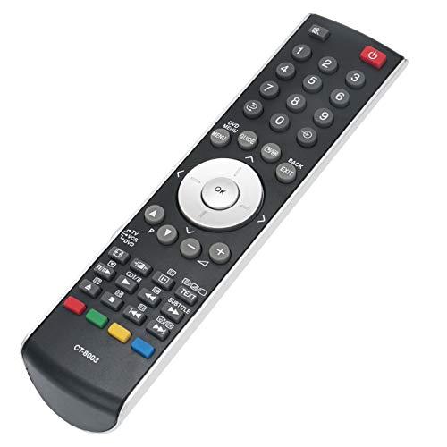 VINABTY CT-8003 CT8003 Sub CT-90300 CT90300 - Mando a distancia para Toshiba LCD TV 32AV503 32AV55D