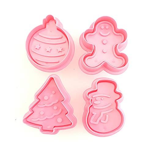 cortadores de galletas navideños marca Ruimin
