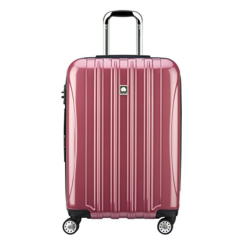 DELSEY Paris Luggage Checked-Medium, Peony Pink