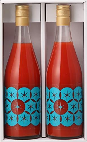 北海道最高級トマトジュース(710ml2本)食塩無添加プレミアムギフト