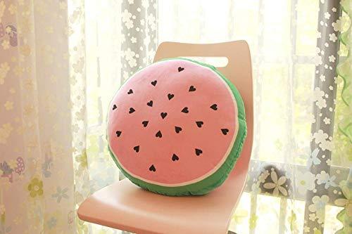 upupupup Giocattoli di pezza Cuscino di Anguria Creativa Cuscino di Frutta personalità Compleanno Anguria Estiva @ Sezione Rotonda Piccola Sezione a Mezzaluna 45 * 20 cm