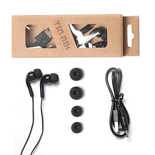 Tin-nik - Accesorios para radio de bolsillo - 1 pieza 3,5 mm tres polos estéreo y 1 cable de carga USB para radio DAB-398S y DAB-379 Personal Portátil DAB/DAB+/FM Radio