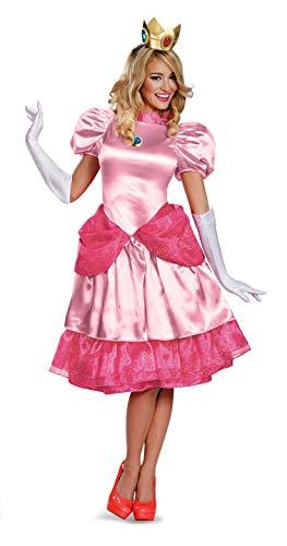 JADEO-CS940104 Princess Costumes Taille Adulte, CS940104, Princesse Peach, M