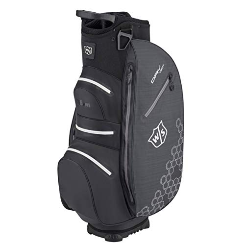 Wilson Herren W/S Dry TECH II CART Bag Golftaschen, Black, One Size