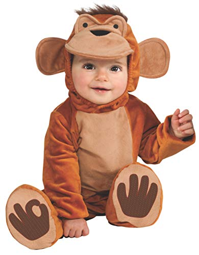 Rubie's IT881524-6/12 - Scimmietta Costume, Super Baby, Taglia 6/12 Mesi