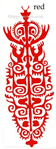 Pegatina Promotion Tiki Maori Figur 20cm Autoaufkleber,Wandtattoo, Aufkleber, Waschanlagenfest, Profi-Qualität, Decal,Sticker