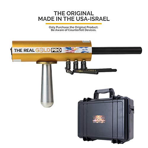 GOLD AKS Real PRO 2019 Long Range Precious Metal Detector - Authentic Gold Nugget and Gold Buried Detection System - Discover Valuable Treasure