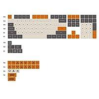 キーキャップ 炭素繊維は、104 + 21キーレーザー彫刻アーカイブPBT FG80-3800 3850の3000機械キーボードキーキャップについて 便利なDIY特性 (Color : Black)