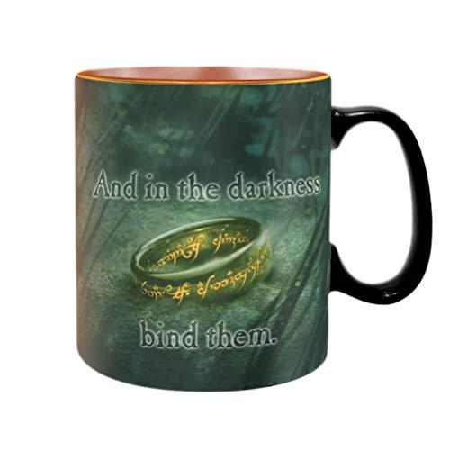 ABYMUG471 - The Lord of The Rings - Heat Change Mug 460ML - Sauron
