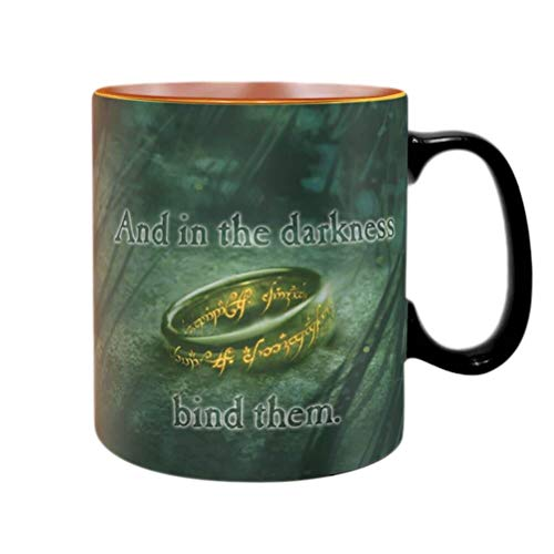 ABYMUG471 - The Lord of The Rings - Heat Change Mug 460ML - Sauron