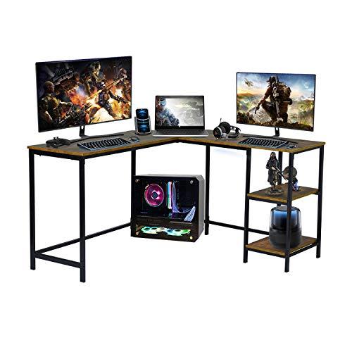escritorio marron de la marca FurnitureR