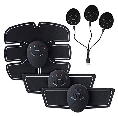 RXRENXIA Bauchton-Gürtel Trainer Body Fitnesstrainer Fitness-Training und Home-Fitness-Geräte Für Frauen mit USB-Akku