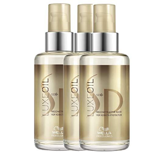 Wella SP Luxe Oil, Set da 3, Olio rigenerante per capelli, 100 ml