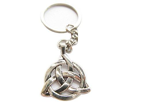 Celtic Knot Keychain,celtic Knot Key Ring,celtic Symbol, Initial Keychain,personalized Keychain,charm Keychain
