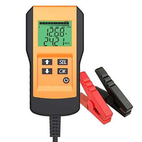 Batterietester Professional 12V 100-2000 CCA 220AH Automotive Batterie Belastungstest Analysegerät Testgerät Digital Analyzer Batteriezustand Test-Tool Werkzeug für Auto/Boot/Motorrad und Mehr