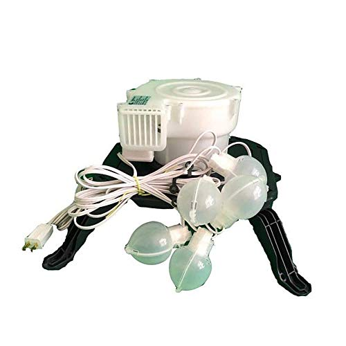 AIR CHARACTERS Replacement YEF-60 Fan with Base and Lights for Gemmy Airblown Inflatables
