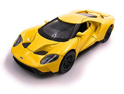 H-Customs Welly GT Modelo de automóvil Deportivo Auto del automóvil Producto con Licencia 1: 34-1: 39 Amarillo
