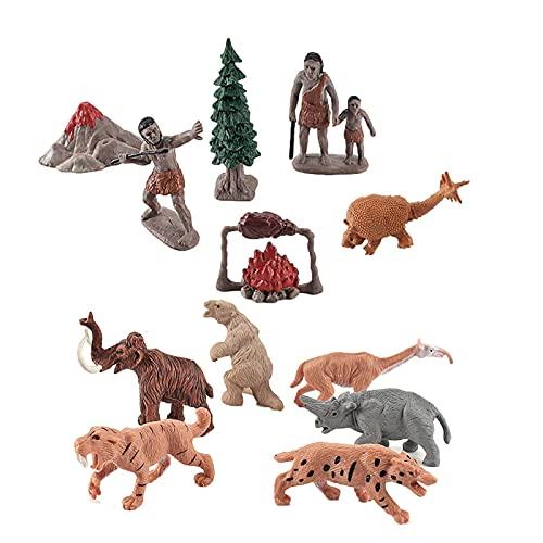 yanghui Figuras De Evolucin Humana | Figuras De Evolucin Humana | Modelo Primitivo De Evolucin Humana, para Coleccionistas, Entusiastas, Maestros Y Nios, para La Figura De Juguete Y Las Lecciones