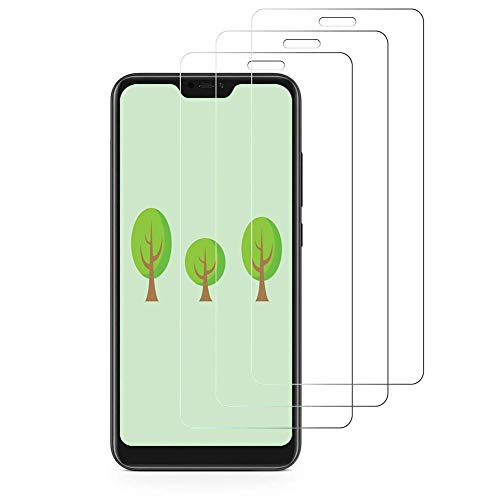 iDolix [3 Unidades] Protector de Pantalla para Xiaomi Mi A2 Lite,Cristal Templado para Xiaomi Mi A2 Lite 9H Dureza,Alta Definicion,Sin Burbujas - Transparente