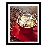 DIY 5D Kit de pintura de diamantes imagen de gema de café para decoración del hogar Diamante redondo 40x30cm