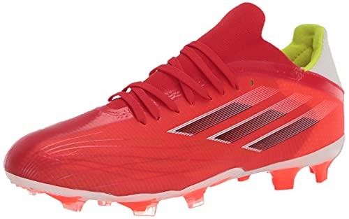 adidas Unisex X Speedflow.2 Firm Ground Soccer Shoe, Red/Black/Solar Red, 10 US Men