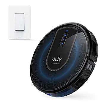 eufy RoboVac G30 Robot Vacuum with Smart Dynamic Navigation 2.0 Robot Vacuum Cleaner丨eufy by Anker Smart Switch Amazon Alexa and The Google Assistant Compatible Wi-Fi Control from Everywhere N