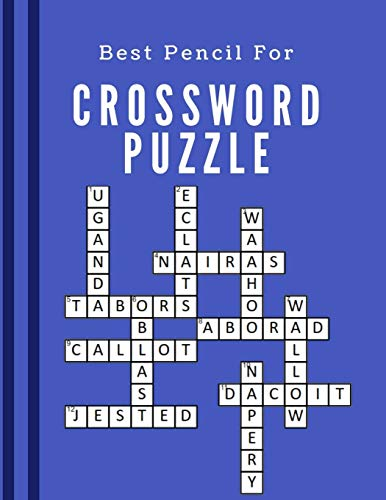 Best Pencil For Crossword Puzzle: Usa Today Crossword Puzzles, The Everything Easy Crosswords Book, quick and easy puzzles, Easy Fun-Sized Puzzles, The New Crossword Dictionary Edition Revised