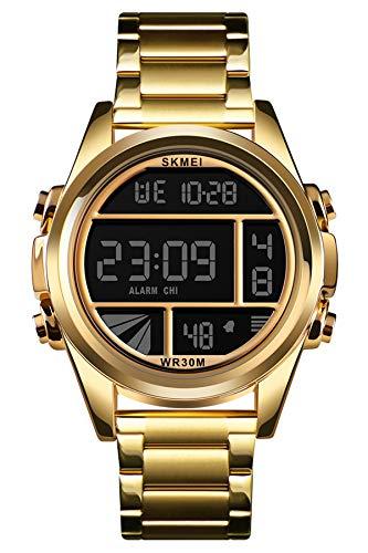 Reloj - SKMEI - Para Hombre - Lemaiskm1448gold