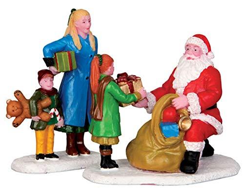 Lemax - Presents From Santa, Set Of 2
