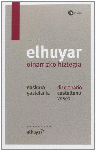 Elhuyar Oinarrizko Hiztegia Eus/gaz - Cas/vas (3. Ed.) (Hiztegiak Eta Mapak)