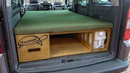 Campingbox Heckküche Schlafsystem Campingküche Bettfunktion VW Van Kombi Typ 111